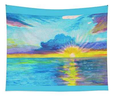 Ocean In The Morning Tapestry
