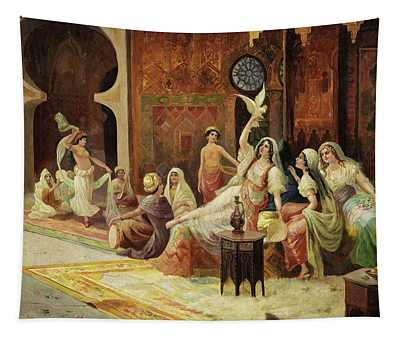 Odalisques In A Harem Tapestry