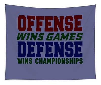 Offence Defense Tapestry