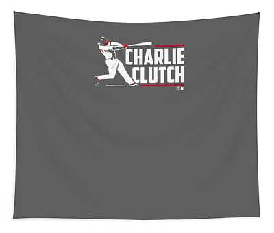 Officially Licensed Charlie Culberson Shirt - Charlie Clutch Tapestry