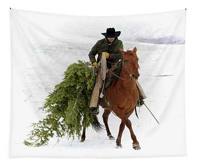 Oh, Christmas Tree Tapestry