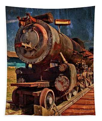 Old 44 Locomotive Tapestry