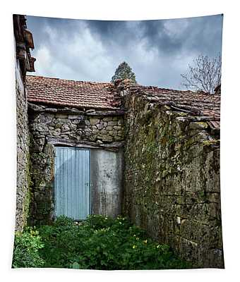 Old Abandoned House In Bainte Tapestry