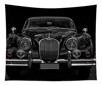 Old Black Jag Tapestry