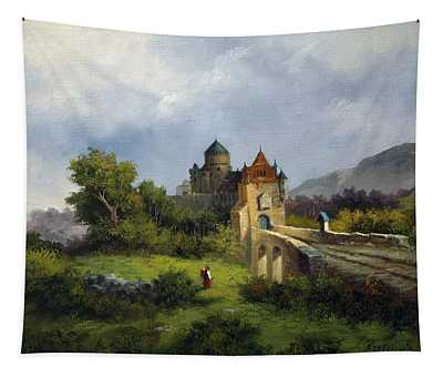 Old Castle Tapestry