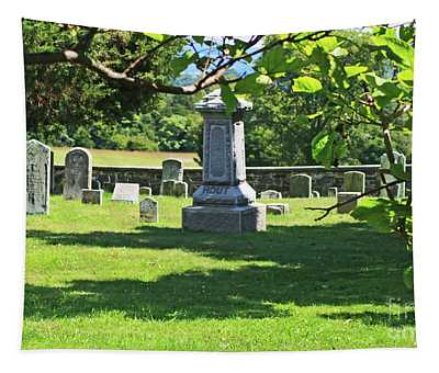 Tapestry featuring the photograph Old Cemetery by Patti Whitten