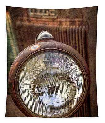 Old Dodge Truck Headlight Tapestry