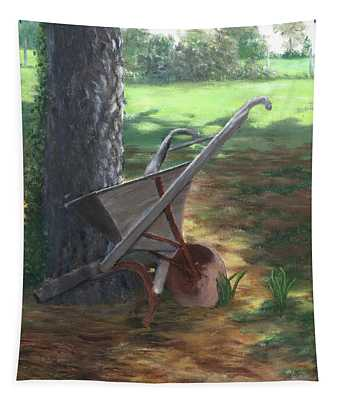 Old Farm Seeder, Louisiana Tapestry