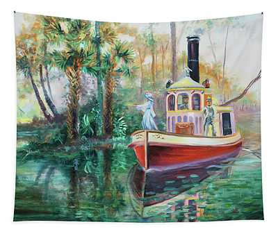 Old Florida Princess Tapestry