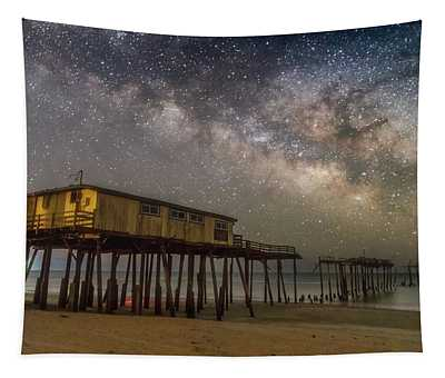 Old Frisco Pier Tapestry