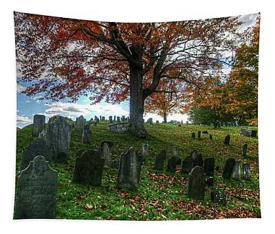 Old Hill Burying Ground In Autumn Tapestry