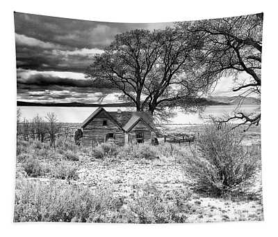 Old Homestead At Honey Lake Tapestry