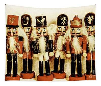 Old Nutcracker Brigade Tapestry