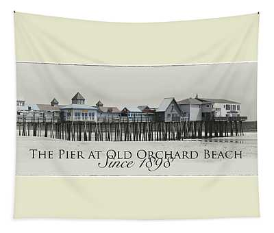Old Orchard Pier Tapestry