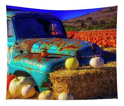 Old Rodoni Farm Truck Tapestry