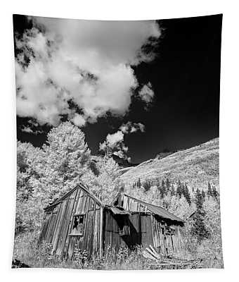 Old Shack In Colorado II Tapestry