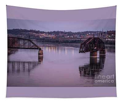 Old Swing Bridge Tapestry