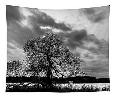Old Tree II Tapestry