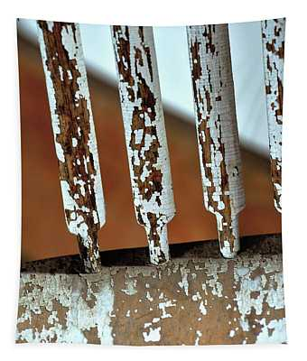 Old Wooden Chair Spindles Tapestry