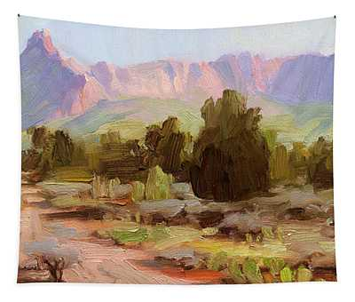 On The Chinle Trail Tapestry