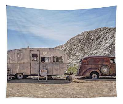 On The Road Again Tapestry
