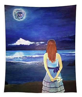 Once In A Blue Moon Tapestry