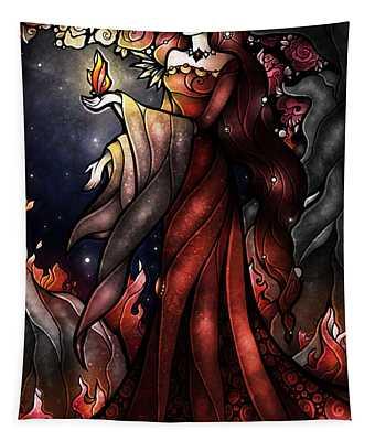 Once Upon A Dark Nightt Tapestry