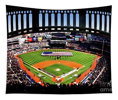 Opening Day Yankee Stadium Tapestry