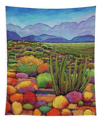 Organ Pipe Tapestry