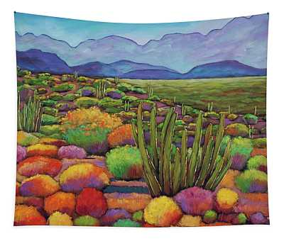 Organ Pipe Tapestry