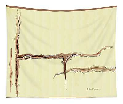 Organic Abstract Tapestry