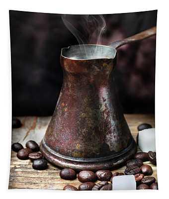 Oriental Coffee Pot Tapestry