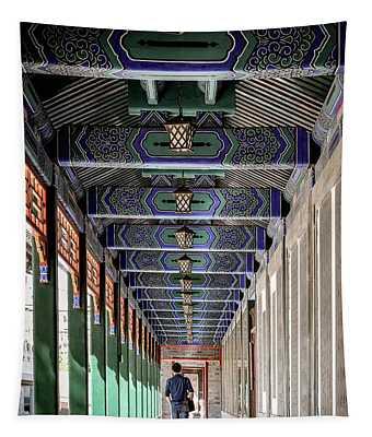 Oriental Hallway Tapestry