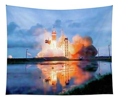 Delta Iv Photographs Wall Tapestries