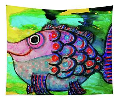 Oscar The Nosefish Tapestry