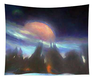 Other Worlds II Tapestry