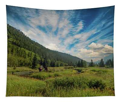 Out For A Ride Tapestry