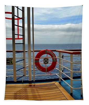 Out To Sea Tapestry