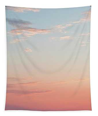 Outer Banks Sailboat Sunset Tapestry