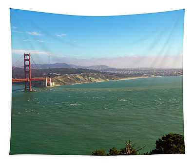 Outside The Golden Gate Tapestry