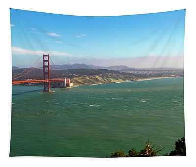 Outside The Golden Gate Tapestry