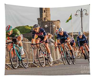 Ovo Energy Cycle Race In Aberystwyth Tapestry