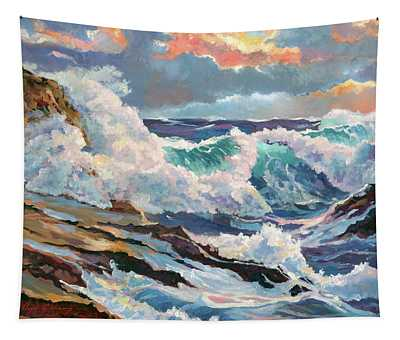Pacific Storm Tapestry