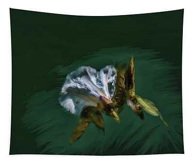 Painted Bindweed #i2 Tapestry