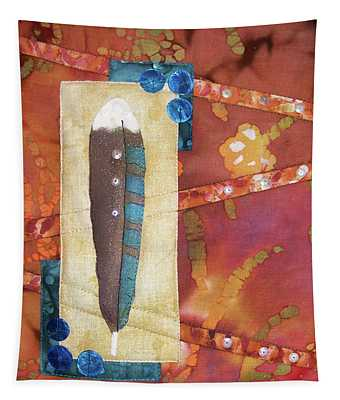 Painted Feather Tapestry