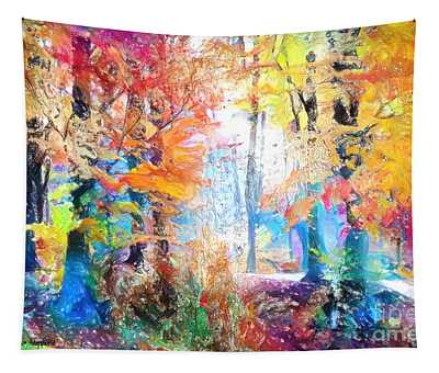 Painted Forest Tapestry