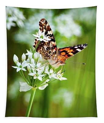 Painted Lady II Tapestry