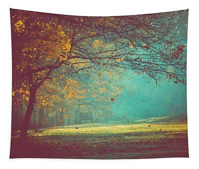 Painted Sunrise Tapestry