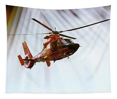 Palm Chopper Tapestry