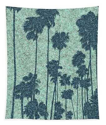 Palms Over Palisades No. 2 Tapestry